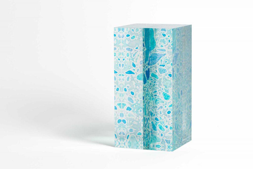 青翠柱鏡華 三尾瑠璃